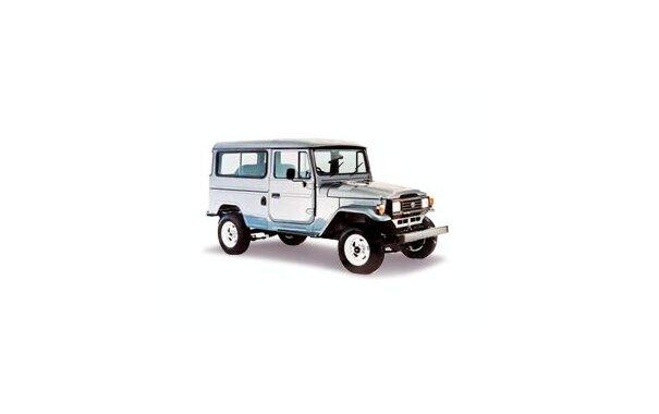 Toyota Bandeirante Jipe 2001