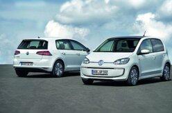 Volkswagen lança elétricos e-Golf e e-up!