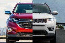 Em números: Chevrolet Equinox ou Jeep Compass?