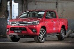 Em novembro, apenas Toyota Hilux e Ford Ranger cresceram