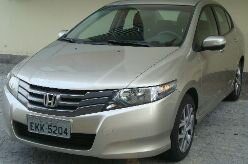 30 dias a bordo do Honda City