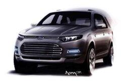 Teaser mostra o novo SUV pequeno da Ford