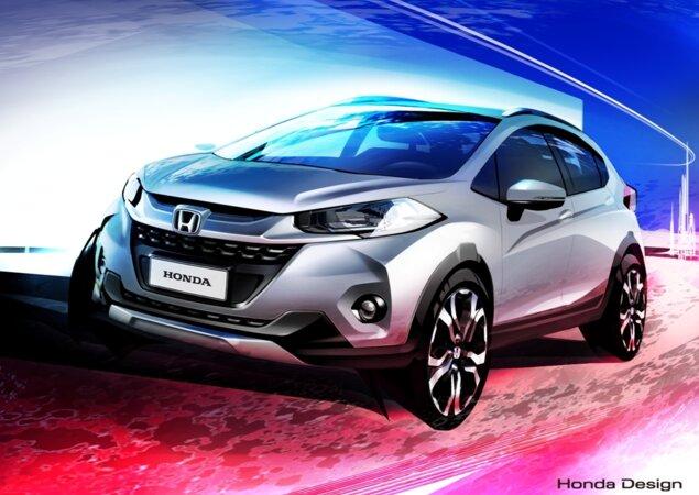 Honda revela primeiro desenho do SUV compacto WR-V