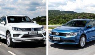 VW Jetta e Touareg 2015 chegam em abril