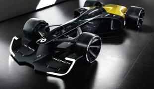 Renault pensa como seria o carro de F1 do futuro