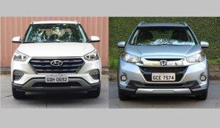 Em números: Hyundai Creta ou Honda WR-V?