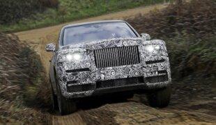 Rolls-Royce Cullinan é o nome do 1º SUV da marca de luxo
