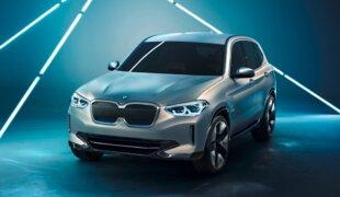 BMW X3 elétrico é mostrado na China