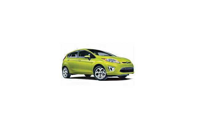Ford New Fiesta Hatch 2012