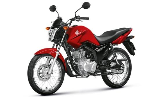 Resultado de imagem para moto Honda/CG 125 FAN KS vermelha