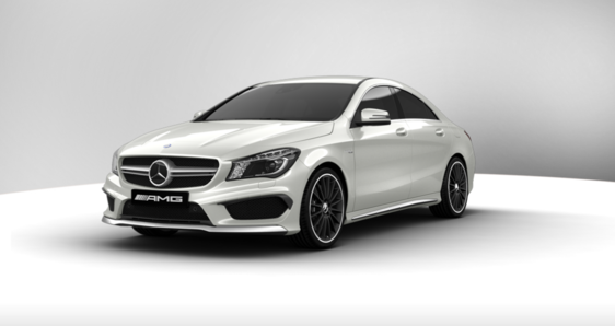 Mercedes Benz CLA 45 AMG 4Matic DCT 2015