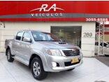 Toyota Hilux 3.0 TDI 4x4 CD SRV (Aut) 2013/2013 4P Prata Diesel