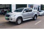 Toyota Hilux 3.0 TDI 4x4 CD STD 2014/2014 4P Prata Diesel