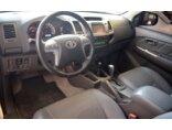 Toyota Hilux 2.7 4x4 CD SRV (Flex) (Aut) 2014/2015 4P Prata Flex