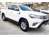 Toyota Hilux 2.7 SRV CD 4x2 (Flex) (Aut) 2016/2017 4P Branco Flex
