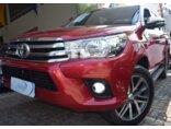 Toyota Hilux 2.7 SRV CD 4x2 (Flex) (Aut) 2016/2017 4P Vermelho Flex
