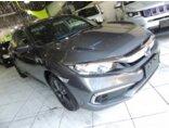 Honda Civic 2.0 LX CVT 2019/2020 4P Cinza Flex