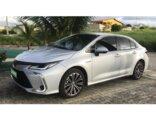 Toyota Corolla 1.8 Altis Hybrid 2020/2020 4P Prata Híbrido / Elétrico