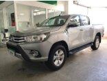 Toyota Hilux 2.8 TDI SRV CD 4x4 (Aut) 2016/2017 4P Prata Diesel