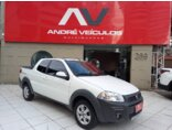 Fiat Strada 1.4 CD Freedom 2020/2020 3P Branco Flex