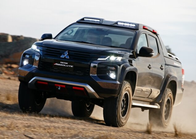 59e714bdd Mitsubishi L200 Triton Absolute é nova rival da Ford Ranger Raptor