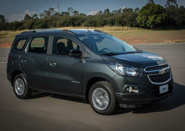 Avaliao Chevrolet Spin 18 Eco Advantage 2017 Notcias Icarros