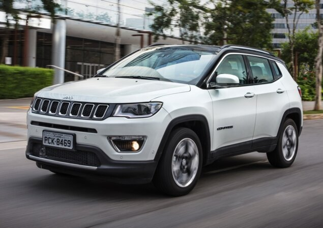 Jeep Compass Estreia Motor Tigershark Flex Noticias Icarros