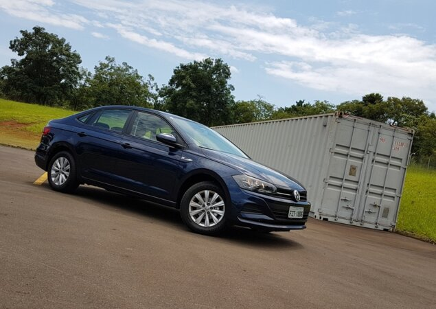 Virtus MSI  como anda a versão de entrada do sedã da VW  - Notícias ... 8184bebef15a7