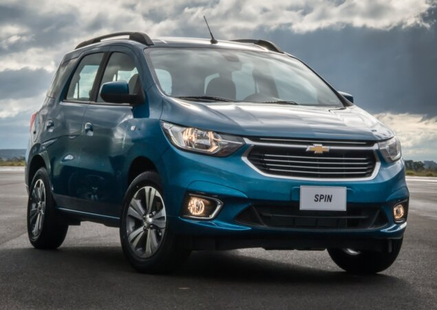 Chevrolet Spin 2019 Lanada No Brasil Com Mais Verses Notcias