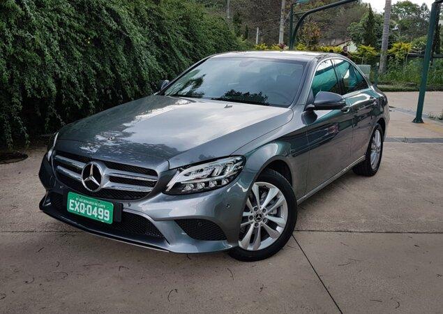 Mercedes Benz Classe C EQ Boost é O Primeiro Híbrido Leve Da Marca No Brasil