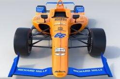 McLaren revela carro de Fernando Alonso na Indy 500