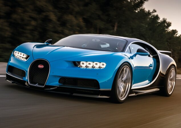Bugatti Chiron Esgota Seu Tanque De Gasolina Em Oito Minutos