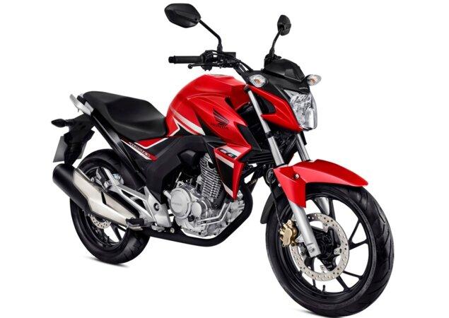 d5c5620b5e7e Honda CB Twister 2018 muda cores e mantém preço - Notícias iCarros