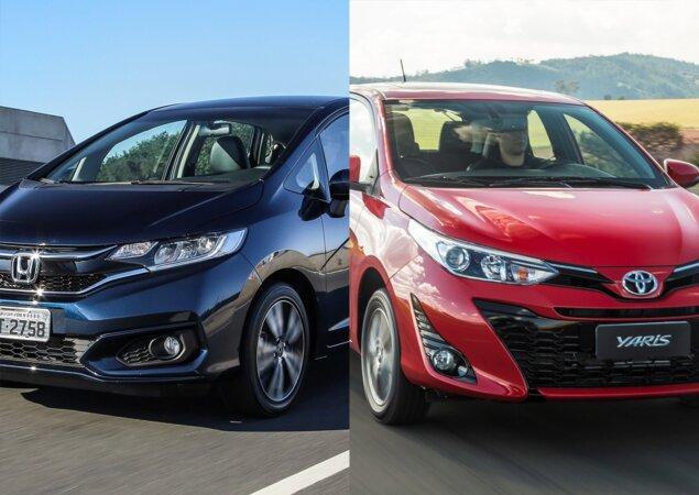 Delightful Se No Passado Honda E Toyota Atuavam Somente No Segmento De Carros Médios  Ou Maiores, Hoje A Situação é Completamente Diferente.