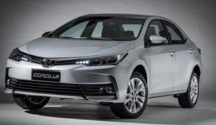 Corolla vende mais que Civic, Cruze, Focus e Sentra em julho